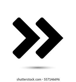 Arrow icon stock vector illustration