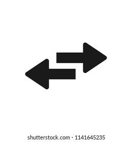 Arrow icon. Arrow symbol. Arrow icon for your web design.