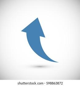 arrow icons, vector best flat icon, EPS