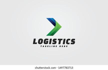 Arrow Logo Template. Vector file