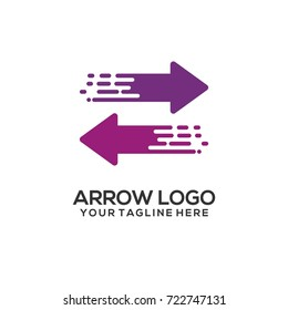 Arrow Logo Vector Art
