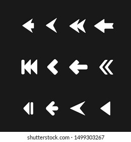 The Arrow Minimalist Icon set