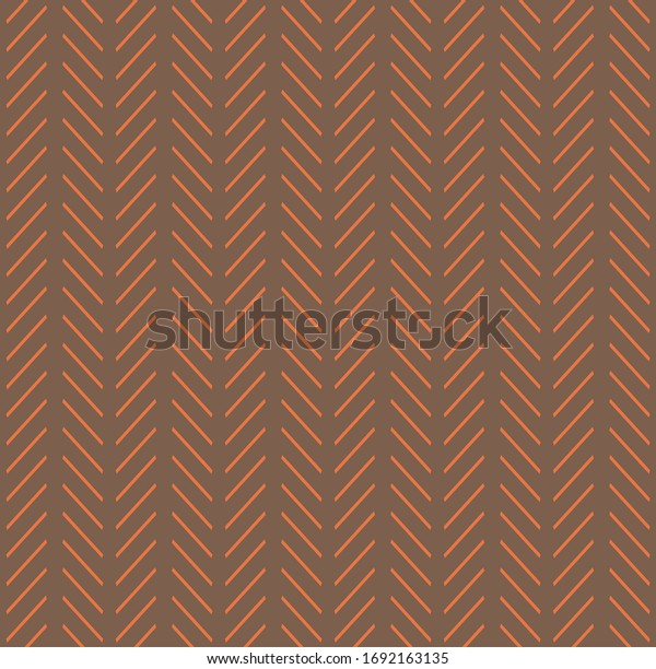Arrow pattern with color combination of rich tan and marble quarry