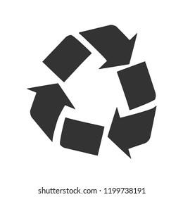 Arrow recycling icon