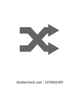 Arrow, remix icon. Element arrow icon. Premium quality graphic design icon. Signs and symbols collection icon for websites, web design, mobile app