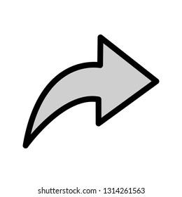 Arrow Right Vector Icon