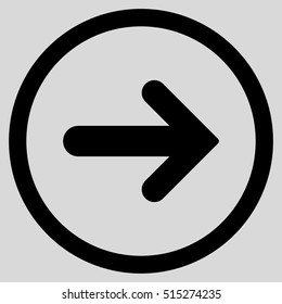arrow inside circle images stock photos vectors shutterstock https www shutterstock com image vector arrow right vector rounded icon image 515274235
