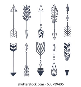Arrow Tattoo Images Stock Photos Vectors Shutterstock