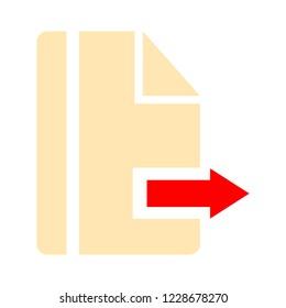 Arrow sign icon. Next button. Navigation symbol.
