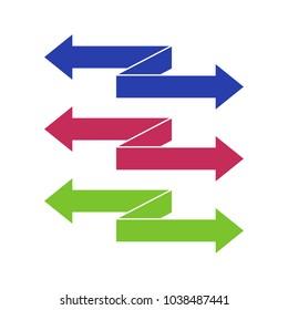 Arrow Vector Template Design