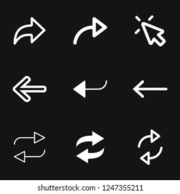 Arrows icon. Arrow for the website and app