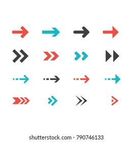 arrows modern Collection Vector