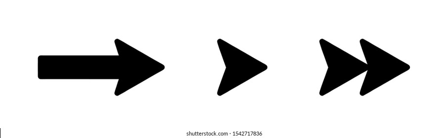 arrows vector collection black. Different black Arrows icons,vector set. Abstract elements for business infographic