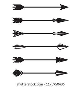 Arrows. Vector illustration
