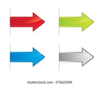Arrows vector illustration icon