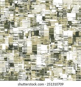 Art abstract urban motif noisy textured background. Seamless pattern. Vector.