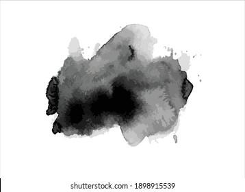 art black ink brush stroke paint texture