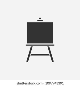Art board  icon illustration,vector painting sign symbol