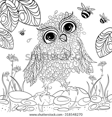 Art And Color Therapy An Anti Stress Coloring Book Wise Owlet Flora