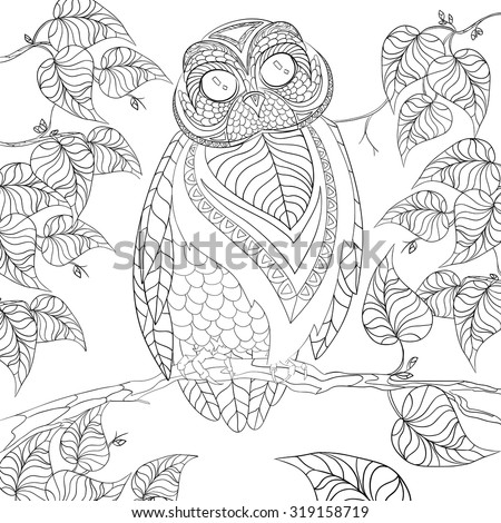 Art And Color Therapy An Anti Stress Coloring Book Wise Owl Flora