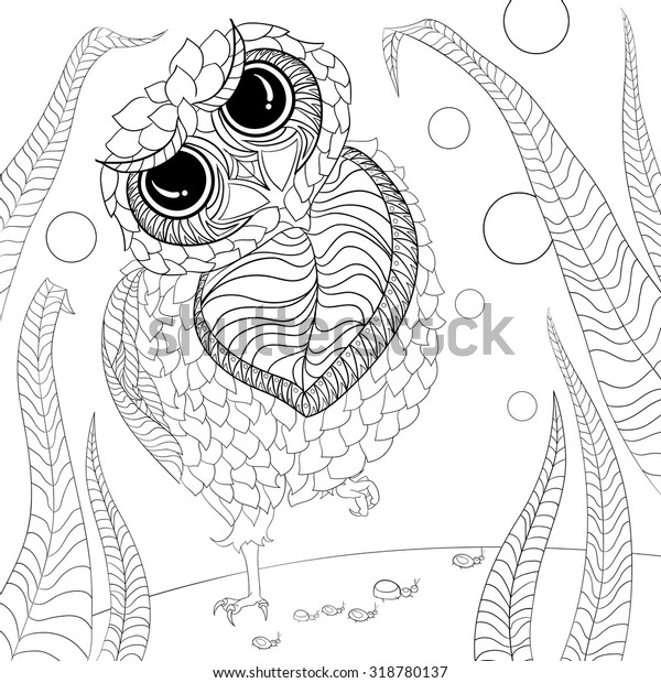 Art Color Therapy Anti Stress Coloring Stock Vector (Royalty Free) 318780137