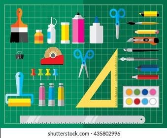 Craft Supplies Images Stock Photos Vectors Shutterstock