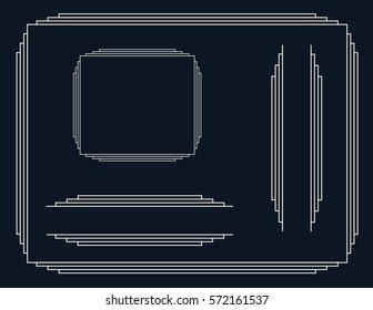 Art Deco Border Images Stock Photos Vectors Shutterstock Download high quality art deco border clip art from our collection of 41,940,205 clip art graphics. https www shutterstock com image vector art deco border 572161537