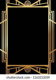 Great Gatsby Border Images Stock Photos Vectors Shutterstock