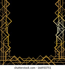 Great Gatsby Borders Images Stock Photos Vectors Shutterstock
