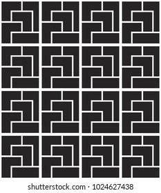 Art Deco grid - seamless repeatable pattern