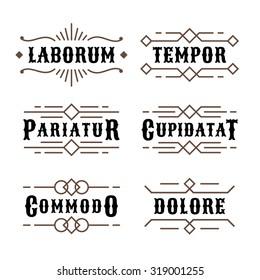 art deco luxury monochrome antique gold hipster minimal geometric vintage linear vector frame , border , label  for your logo, badge or crest for club, bar, cafe, restaurant, hotel, boutique