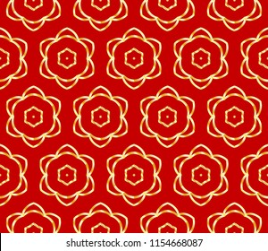 Art deco pattern of geometric elements. seamless pattern. Vector illustration. design for printing, presentation, textile industry