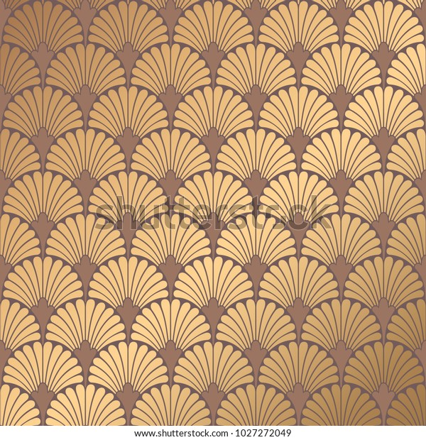 Enjoyable Art Deco Pattern Golden Background Minimalistic Stock Vector Download Free Architecture Designs Grimeyleaguecom