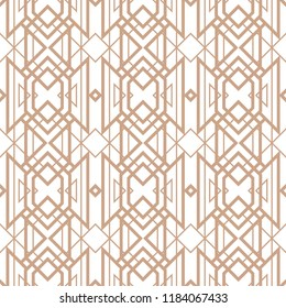 Art deco seamless pattern for luxury products. 1920s style texture for brochures, flyers, booklets, greetings and postcards, invitations, fabric wallpapper.