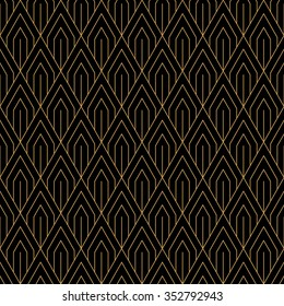 art deco seamless vintage wallpaper 260nw 352792943