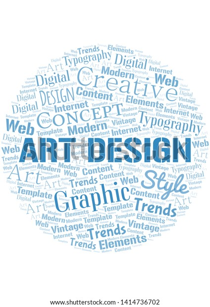Art Design Word Cloud Wordcloud Made Backgrounds Textures