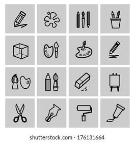 art Icons set