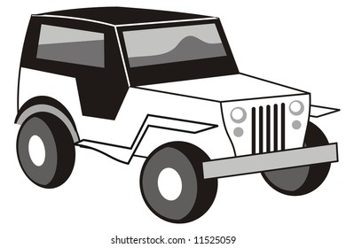 4x4 Jeep Stock Illustrations Images Vectors Shutterstock