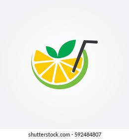the art lemon icon logo