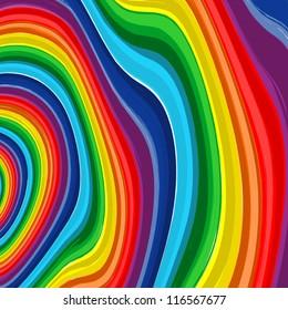 Art rainbow  abstract vector background 8