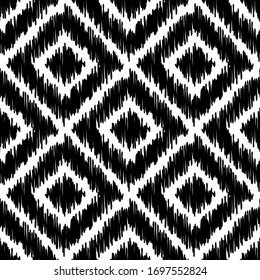 Art seamless pattern. Folk motif. Vector geometric background. Can be used for social media, posters, email, print, ads designs.