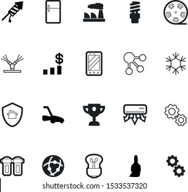 art vector icon set such as: automatic, weather, trophy, bar, leadership, sales, graph, contact, globe, christmas, mechanism, spray, guard, drop, red, heat, conditioning, season, smoke, chart