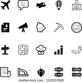 art vector icon set such as: axe, singer, tree, vegetable, science, marketing, observation, code, spyglass, fashion, mail, board, street, soil, celebration, electrical, room, new, handle, caterpillar