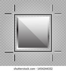 Artboard, crop, square, tool icon. Vector