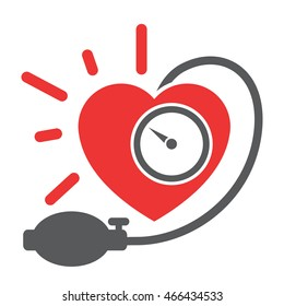 Arterial blood pressure checking concept