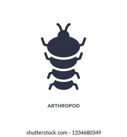 arthropod icon. Simple element illustration from stone age concept. arthropod editable symbol design on white background. Can be use for web and mobile.
