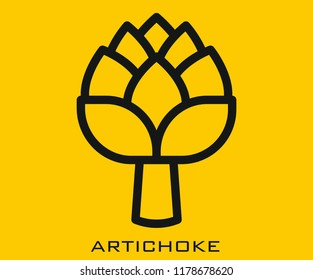 Artichoke icon signs