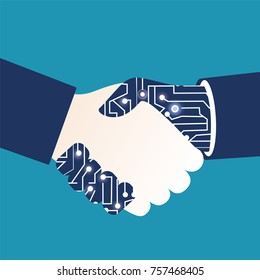 ARTIFICIAL INTELLIGENCE, Human and robot agreement vector