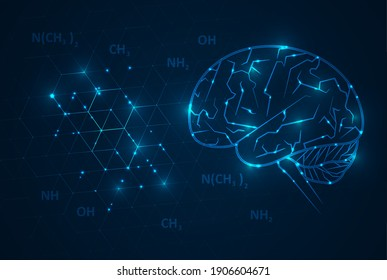 Artificial Intelligence illustration. Artificial intelligence and machine learning concept. Digital computer code. Data transfer concepts in internet.