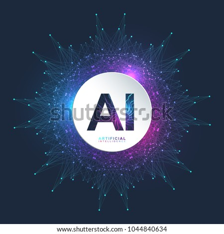 Artificial Intelligence Logo Artificial Intelligence Machine Stock